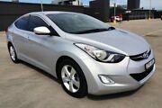 2013 Hyundai Elantra MD3 Elite Silver 6 Speed Sports Automatic Sedan Haymarket Inner Sydney Preview