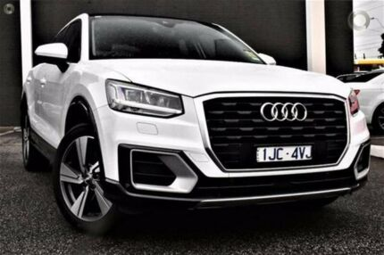 2017 Audi Q2 GA MY17 design S tronic White 7 Speed Sports Automatic Dual Clutch Wagon