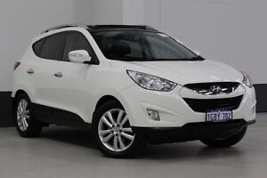 2011 Hyundai ix35 LM MY11 Highlander (AWD) White 6 Speed Automatic Wagon Bentley Canning Area Preview