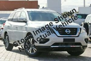 2018 Nissan Pathfinder R52 Series II MY17 ST-L X-tronic 2WD Ivory Pearl 1 Speed Constant Variable Liverpool Liverpool Area Preview