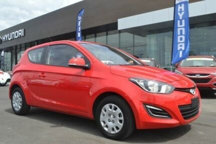 2013 Hyundai i20  Electric Red Manual Hatchback Hoppers Crossing Wyndham Area Preview