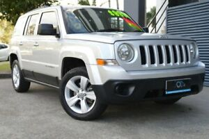 2012 Jeep Patriot MK MY2012 Sport CVT Auto Stick 4x2 Silver 6 Speed Constant Variable Wagon Ashmore Gold Coast City Preview