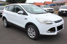 2014 Ford Kuga TF Ambiente AWD White 6 Speed Sports Automatic Wagon Glebe Hobart City Preview