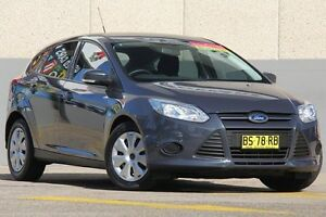 2012 Ford Focus LW MK2 Ambiente Blue 6 Speed Automatic Hatchback Wolli Creek Rockdale Area Preview