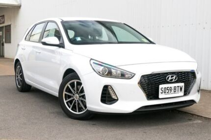 2017 Hyundai i30 PD MY18 Active White 6 Speed Sports Automatic Hatchback Port Adelaide Port Adelaide Area Preview
