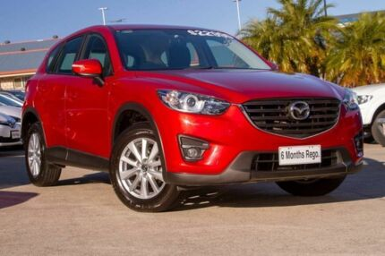 2014 Mazda CX-5 KE1031 MY14 Maxx SKYACTIV-Drive AWD Sport Red 6 Speed Sports Automatic Wagon Hillcrest Logan Area Preview