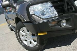 2010 Mitsubishi Pajero NT MY10 Activ Iron Bark 5 Speed Auto Sports Mode Wagon Wolli Creek Rockdale Area Preview