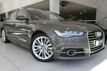 2015 Audi A6 4G MY16 S Line S tronic Grey 7 Speed Sports Automatic Dual Clutch Sedan North Melbourne Melbourne City Preview