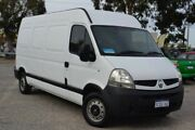 2009 Renault Master X70 MY07 Mid Roof MWB Quickshift White 6 Speed Seq Manual Auto-Clutch Van Wangara Wanneroo Area Preview
