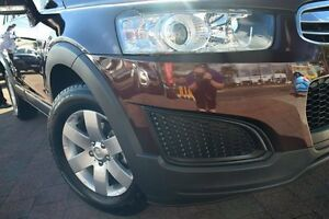 2014 Holden Captiva CG MY14 7 LS Red 6 Speed Sports Automatic Wagon Waitara Hornsby Area Preview