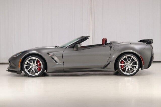 2016 Gray Chevrolet Corvette Z06 3LZ   C7 Corvette Photo 2