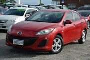 2011 Mazda 3 BL10F1 MY10 Neo Activematic Red 5 Speed Sports Automatic Sedan Pearsall Wanneroo Area Preview