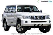 2012 Nissan Patrol GU 7 MY10 ST White 5 Speed Manual Wagon Wangara Wanneroo Area Preview