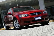 2009 Holden Commodore VE MY09.5 Omega Red 4 Speed Automatic Sedan St James Victoria Park Area Preview