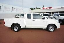 2014 Toyota Hilux KUN26R MY14 SR Double Cab White 5 Speed Automatic Utility Balcatta Stirling Area Preview