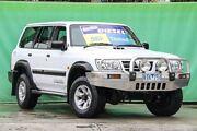 2002 Nissan Patrol GU III MY2002 ST Plus White 4 Speed Automatic Wagon Ringwood East Maroondah Area Preview