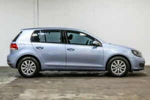 2010 Volkswagen Golf VI MY11 90TSI DSG Trendline Blue 7 Speed Sports Automatic Dual Clutch Hatchback