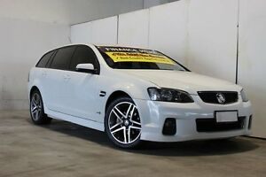 2011 Holden Commodore VE II MY12 SV6 White 6 Speed Automatic Sportswagon Underwood Logan Area Preview