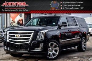 2017 Cadillac Escalade ESV Luxury 4x4|Rr DVDs|Heated Seats|BOSE|