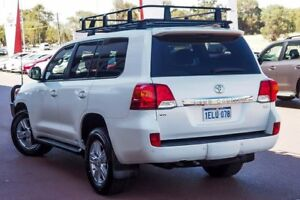 2014 Toyota Landcruiser VDJ200R MY13 VX Crystal Pearl 6 Speed Sports Automatic Wagon