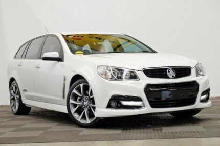 2013 Holden Commodore VF MY14 SS V Sportwagon White 6 Speed Sports Automatic Wagon