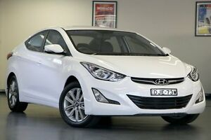 2014 Hyundai Elantra MD3 Trophy White 6 Speed Sports Automatic Sedan Chatswood Willoughby Area Preview