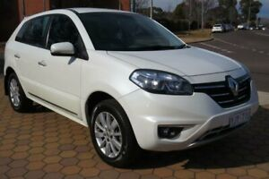2013 Renault Koleos H45 Phase III Expression (4x2) White Continuous Variable Wagon Greenway Tuggeranong Preview