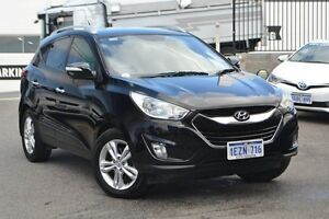2010 Hyundai ix35 LM Elite AWD Black 6 Speed Sports Automatic Wagon Claremont Nedlands Area Preview