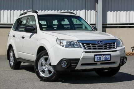 2012 Subaru Forester MY12 X White 4 Speed Auto Elec Sportshift Wagon Cannington Canning Area Preview