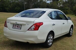 2013 Nissan Almera N17 ST White 4 Speed Automatic Sedan Bundaberg West Bundaberg City Preview