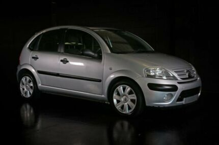 2006 Citroen C3 MY06 Exclusive Silver 4 Speed Sports Automatic Hatchback Slacks Creek Logan Area Preview