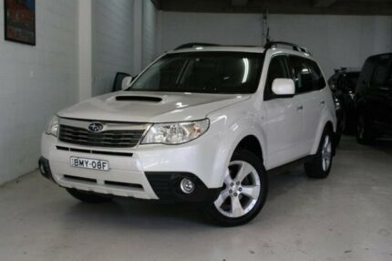 2010 Subaru Forester S3 MY10 XT AWD Premium White 4 Speed Sports Automatic Wagon Castle Hill The Hills District Preview