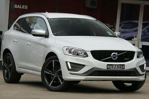 2014 Volvo XC60 DZ MY14 D5 R-Design White 6 Speed Automatic Geartronic Wagon Petersham Marrickville Area Preview