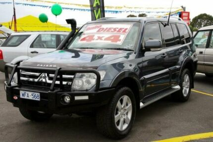 2008 Mitsubishi Pajero NS 25th Anniversary Grey 5 Speed Sports Automatic Wagon Ringwood East Maroondah Area Preview