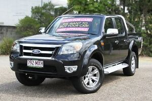 2010 Ford Ranger PK XLT Crew Cab Black 5 Speed Automatic Utility Underwood Logan Area Preview