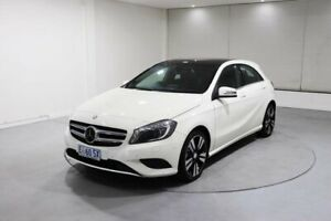 2015 Mercedes-Benz A-Class W176 805+055MY A200 D-CT White 7 Speed Sports Automatic Dual Clutch Invermay Launceston Area Preview