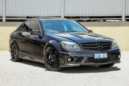 2009 Mercedes-Benz C63 W204 AMG Black 7 Speed Automatic G-Tronic Sedan Cannington Canning Area Preview