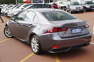2013 Lexus IS300H AVE30R Luxury Grey 1 Speed Constant Variable Sedan Westminster Stirling Area Preview