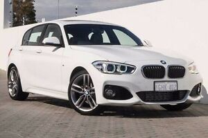 2016 BMW 118i F20 LCI M Sport Steptronic White 8 Speed Sports Automatic Hatchback Wangara Wanneroo Area Preview