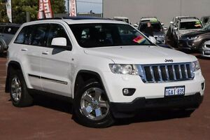 2013 Jeep Grand Cherokee WK MY2013 Laredo White 5 Speed Sports Automatic Wagon Cannington Canning Area Preview