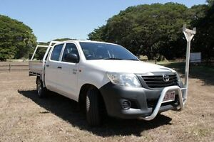 4x2 Workmate 2.7L Petrol Manual Double Cab The Gardens Darwin City Preview