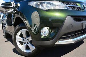 2013 Toyota RAV4 ASA44R GXL AWD Dark Green 6 Speed Sports Automatic Wagon Glendalough Stirling Area Preview