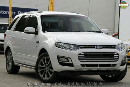 2015 Ford Territory SZ MK2 Titanium (RWD) Winter White 6 Speed Automatic Wagon Mornington Mornington Peninsula Preview