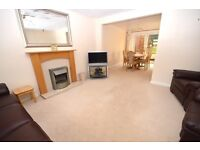 Fantastic, modern 3-bedroom family home with private gardens, garage and shed available January