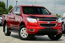 2012 Holden Colorado RG MY13 LTZ Space Cab Red 6 Speed Sports Automatic Utility Brendale Pine Rivers Area Preview