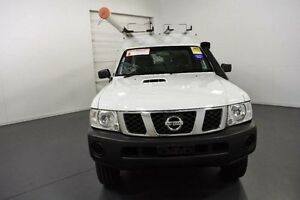 2011 Nissan Patrol GU MY08 DX (4x4) White 5 Speed Manual Cab Chassis Moorabbin Kingston Area Preview