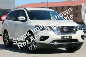 2017 Nissan Pathfinder R52 Series II MY17 ST X-tronic 2WD White 1 Speed Constant Variable Wagon Ashmore Gold Coast City Preview