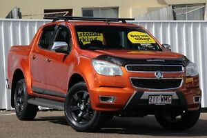 2014 Holden Colorado RG MY15 LTZ Crew Cab Orange 6 Speed Sports Automatic Utility Chermside Brisbane North East Preview