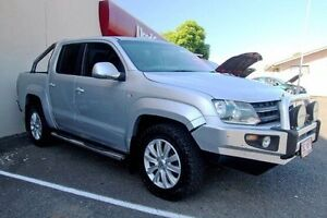 2011 Volkswagen Amarok 2H TDI400 4Mot Silver 6 Speed Manual Utility Gympie Gympie Area Preview
