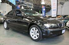 2005 BMW 318I E46 Executive Black 5 Speed Auto Steptronic Sedan Victoria Park Victoria Park Area Preview